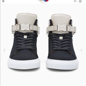 Brand new Authentic men's 100 MM buscemi High-tops